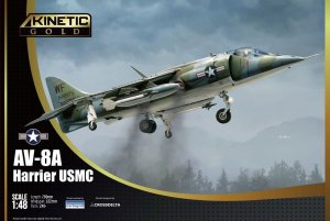 KINETIC 48072 - 1:48 AV-8A Harrier USMC