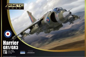 KINETIC 48060 - 1:48 Harrier GR1/GR3