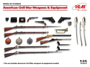 ICM 35022 - 1:35 American Civil War Weapons & Equipment
