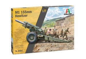 ITALERI 6581 - 1:35 M1 155mm Howitzer with crew