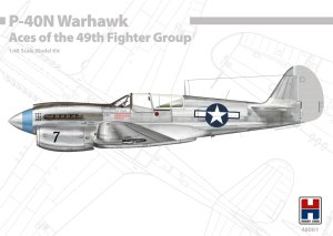 HOBBY 2000 48001 - 1:48 P-40N Warhawk Aces of The 49th Fighter Group