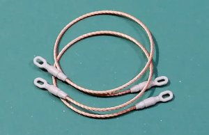 EUREKA XXL ER-4805 - 1:48 Towing cables for M1 Abrams