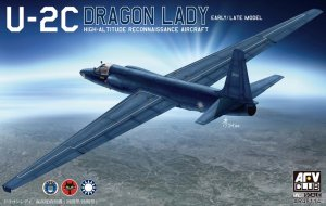 AFV CLUB 48114 - 1:48 Lockheed U-2C Dragon Lady Early/Late model