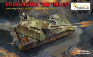 VESPID MODELS VS720005 - 1:72 Flakpanzer VIII Maus - German Super Heavy AA Tank