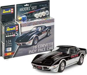 REVELL 67646 - 1:24 1978 Corvette Indy Pace Car - Model Set