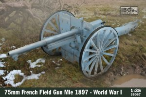IBG 35067 - 1:35 75mm French Field Gun Mle 1897 - World War I