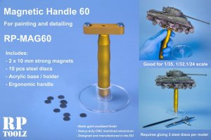 RP TOOLZ MAG60 - Painting handle with magnets - Magnetic Handle 60