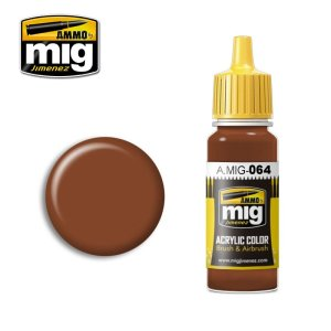 AMMO MIG 064 - Earth Brown - acrylic paint 17ml