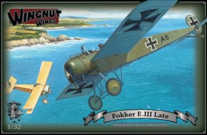 WINGNUT WINGS 32048 - 1:32 Fokker E.III (Late)