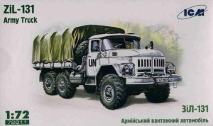 ICM 72811 - 1:72 ZiL-131, Army Truck