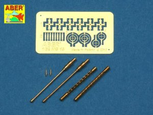 ABER A32001 - 1:32 Set of 2 barrels for German 7,92 mm MG 15 aircraft machine guns