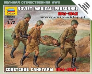 ZVEZDA 6152 - 1:72 Soviet Medical Personnel 1941-42