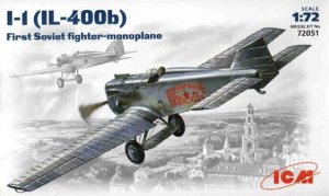 ICM 72051 - 1:72 I-1(IL-400b), First Soviet Fighter-Monoplane