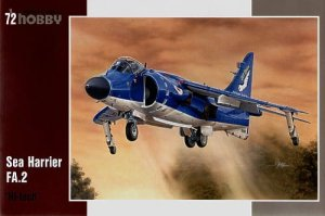 SPECIAL HOBBY 72154 - 1:72 Sea Harrier FA.2 Hi-tech kit