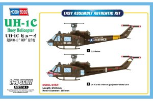HOBBY BOSS 85803 - 1:48 UH-1C Huey Helicopter