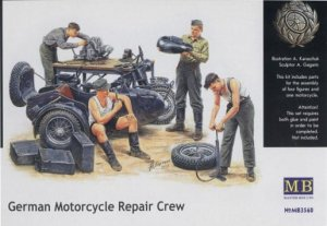 MASTER BOX 3560 - 1:35 German Motorcycle Repair Crew
