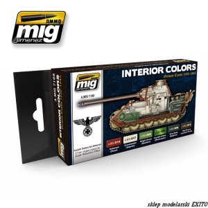 AMMO MIG 7108 - Interior Colors German Tanks 1939-1945