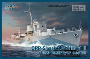 IBG 70001 - 1:700 ORP Slazak 1943 Hunt II class destroyer escort