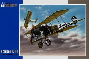SPECIAL HOBBY 48038 - 1:48 Fokker D.II  Black & White Tails