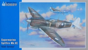 SPECIAL HOBBY 48100 - 1:48  Supermarine Spitfire Mk.VC RAAF service