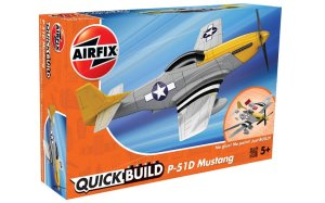 AIRFIX J6016 - P-51D Mustang - Quick Build