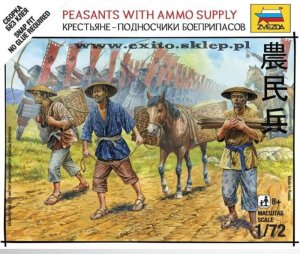 ZVEZDA 6415 - 1:72 Peasants with Ammo Supply