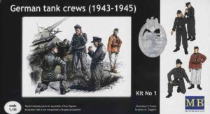 MASTER BOX 3507 - 1:35 German tank crew (1943-1945)