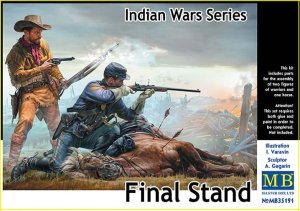 MASTER BOX 35191 - 1:35 Final Stand - Indian Wars Series
