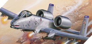 ACADEMY 12402 - 1:72 A-10 A Iraq Freedom