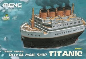 MENG MODEL MOE001 - Royal Mail Ship Titanic