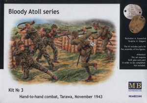 MASTER BOX 3544 - 1:35 Bloody Atol Hand-to-hand fight Tarawa 1943