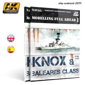 AK INTERACTIVE 098 - Knox & Baleares Class - Modelling Full Ahead 1