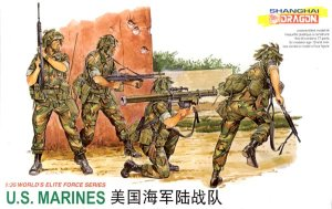 DRAGON 3007 - 1:35 U.S. Marines