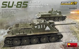 MINIART 35204 - 1:35 SU-85 Mod. 1944 Early Production w/ Interior Kit