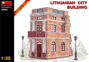 MINIART 35504 - 1:35 Lithuanian City Building