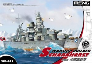 MENG MODEL WB002 - Warship Builder - Scharnhorst