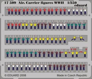 EDUARD 17509 - 1:350 Air.Carrier Figures WWII