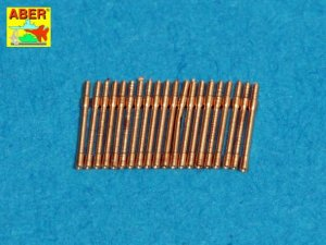 ABER 1:400L-04  - 1:400 Set of 20 pcs 20mm L/65 barrels C/38 for German war ships