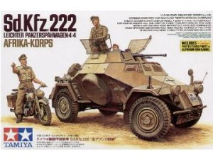 TAMIYA 35286 - 1:35 Sd.Kfz.222 North Africa