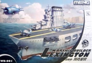 MENG MODEL WB001 - Warship Builder - Lexington