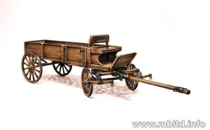 MASTER BOX 3562 - 1:35 West European cart