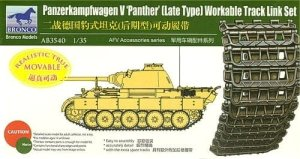 Bronco   AB3545  1//35  Scale Sherman T74 Workable Track Link Set