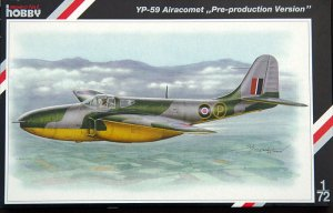 SPECIAL HOBBY 72084 - 1:72 Bell YP-59 Airacomet