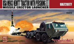 MODELCOLLECT UA72077 - 1:72 USA M983 Hemtt Tractor With Pershing II Missile Erector Launcher