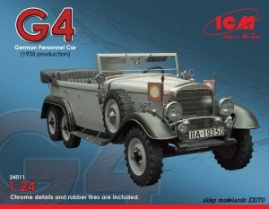 ICM 24011 - 1:24 Typ G4 WWII German Personnel Car 1935 production