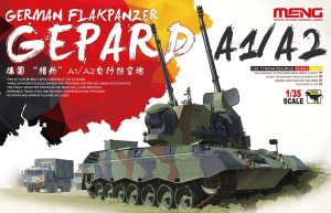 MENG MODEL TS030 - 1:35 German Flakpanzer Gepard A1/A2
