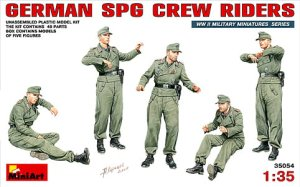 MINIART 35054 - 1:35 German SPG Crew Riders