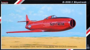 SPECIAL HOBBY 48080 - 1:48 D-558-1 Skystreak