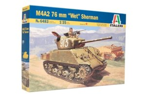 ITALERI 6483 - 1:35 M4A2 76mm Wet Sherman