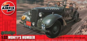 AIRFIX 05360 - 1:32 Monty's Humber Snipe Staff Car